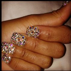 Um yea if you know who Jordan smith is I bet you 100$ these are her nails lol Omgee