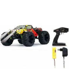 Radiostyrd Tiger Monstertruck 1:10 4WD NiMh LED lampor Leksakscity.se