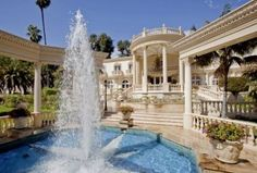 Chateau d'Or: A French-Inspired Palace of Gold in Bel Air