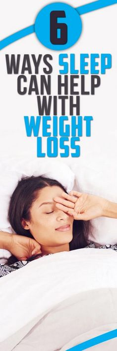 6 Ways Sleep Can Help With Weight Loss Less sleep can affect your weight. when you not sleeping your body cooks up a recipe for weight gain but then having enough sleep is very important to your health and weight. Below are ways through which sleep helps in weight loss. 1. Controls diet When the solutions to overweight are talked about one of