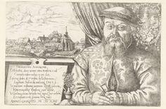 Hieronymus Wierix   Cartouche met serietitel, omringd door putti, Hieronymus Wierix, Jan van der Straet, Philips Galle, 1563 - before 1612   Serietitel en een vijfregelig Bijbelcitaat uit Bar. 3 in het Latijn, in een cartouche, omringd door putti met de attributen van de drie goddelijke en de vier kardinale deugden. Onder de cartouche een kader met vier regels in het Latijn.