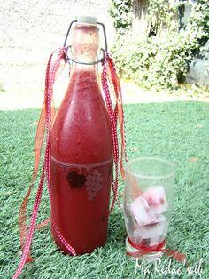 boisson aux fruits rouges