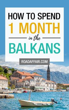The Ultimate Balkans Itinerary for First-Time Visitors World Travel Guide, Europe Travel Tips, European Travel, Travel Guides, Travel Destinations, Montenegro, Travel Couple, Family Travel, Bósnia E Herzegovina