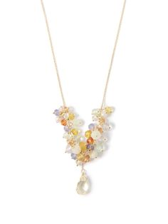 Lovely cluster necklace