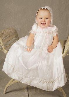vestidos para bautismo de bebe muy lindos