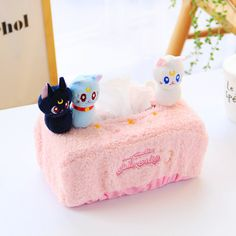 >> Click to Buy << Sailor Moon diorama BOX tissue cover holder plush napkin Paper towel plush toy doll cosplay costume #Affiliate