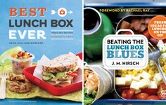 Kids' lunch ideas from: Best Lunch Box Ever by Katie Sullivan Morford  Beating the Lunch Box Blues by J.M. Hirsch