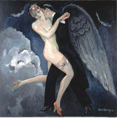 """fleurdulys: """"Tango of the Archangel - Kees van Dongen 1922 """""""