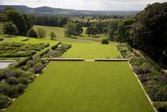 Yorkshire garden | Tom Stuart-Smith. Terraced lawns blend with landscape and views beyond.