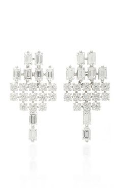 AS29 Baguette Diamond Earrings