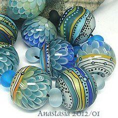 Turquoise | Dusty aqua | beads, accessory | by Anastasia