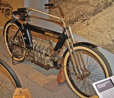 Four Cylinder Motorcycles | 1909 Pierce 4 Cylinder Motorcycle | Flickr - Photo Sharing!