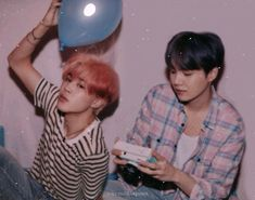 We're straight, we swear! Yoongi and Jimin are rising BL actors and t… Fanfiction Yoongi, Jimin Jungkook, Bts Bangtan Boy, K Pop, Yoonmin Fanart, Park Jimin Cute, Foto Jimin, Namjin, Bts Pictures
