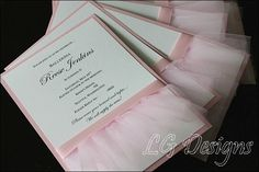 Ballerina Theme Custom Birthday Invitations. For more party themes and ideas visit, www.bostonparentspaper.com