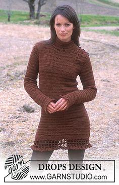 Crochet dress | free pattern
