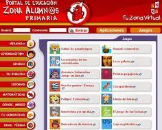 Portal de educación de la Junta de Castilla y León - Cientos de juegos y actividades para aprender jugando