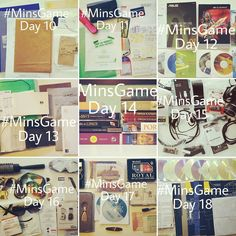 #minsgame Days 10-18 with 176 items gone. There were donated books lots of paperwork (some got digitized) CDs obsolete office supplies electronics and manuals. Now it's getting really challenging! #minimalism #declutter #minimalist #noisydeadlines #simplify