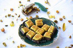 Raw Dessert Collection: Golden Brownie kurkumalla tehostettuna