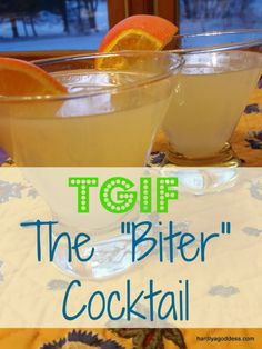 "TGIF: the ""biter"" cocktail 