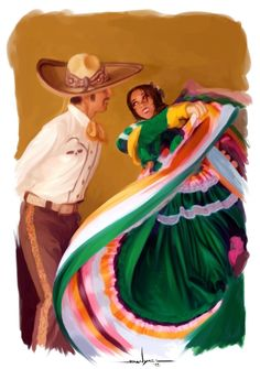 Viva Mexico by Lesta Danyael Mexican Artwork, Mexican Paintings, Art Pictures, Art Images, Latino Art, Dance Paintings, Mexico Culture, Hippie Wallpaper, Mexico Art