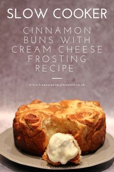 Jan 10, 2021 - RECIPE: Slow Cooker Cinnamon Buns with Cream Cheese Frosting