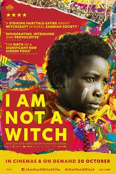 I Am Not a Witch: Following a banal incident in her local village, 8-year old girl Shula is accused of witchcraft. After a short trial she is found guilty, taken into state custody and exiled to a witch camp in the middle of a desert. At the camp she takes part in an initiation ceremony where she is shown the rules surrounding her new life as a witch. Like the other residents, Shula is tied to a ribbon which is attached to a coil that perches in a large tree. She is told that should she ever…
