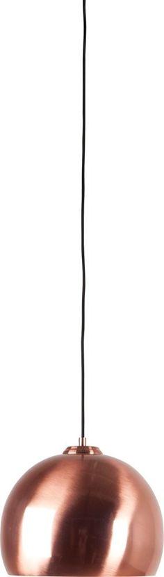 Zuiver Big Glow Hanglamp - Koper