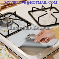 Source disposable non stick gas hob protectors, gas burner covers, gas range burner covers on m.alibaba.com
