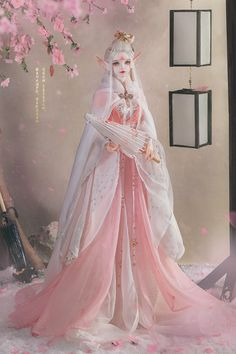 God of Flower - Xi Ruo, Limited Loong Soul Doll - BJD Dolls, Accessories - Alice's Collections Pretty Dolls, Beautiful Dolls, Anime Girl Dress, Flower Girl Dresses, Ooak Dolls, Barbie Dolls, Barbie Images, Chinese Dolls, Custom Monster High Dolls