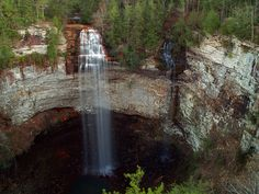 Fall Creek Falls and Coon Creek Falls, Middle Tennesse