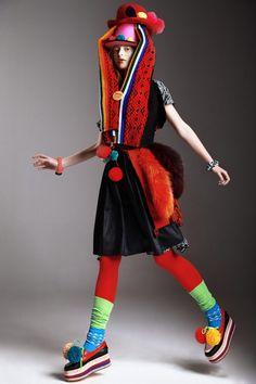 nice Children of Peru | Editorial de Moda Abril 2013 | Klaudyna por Maciej Bernas