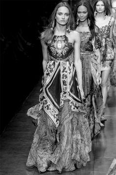 #Karmen Pedaru #Joan Smalls #Bette Franke #Dolce & Gabbana