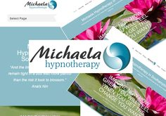 """The New Website for Michaela Hypnotherapy in Southampton is now """"live"""" at http://hypnotherapy-southampton.co.uk/"""