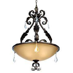 Chandelier Lighting Fixtures, Pendant Chandelier, Pendant Lighting, Kathy Ireland, Sloped Ceiling, Ceiling Lights, Bronze Pendant, Antique Lighting, Pendant Design