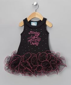 Any little princess will sparkle in this dazzling dress.