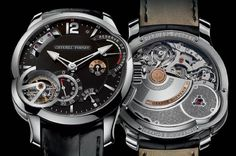 The Greubel Forsey Grande Sonnerie is the brand's first chiming watch. It was 11 years in development, has 935 parts and ...