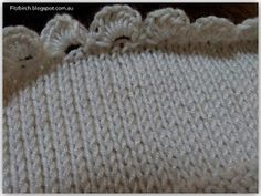 I have a love of crocheted roses (our previous posts about Knitted Door Stops  and a Button Rose Tea Cosy  are testimony to that) so I t...