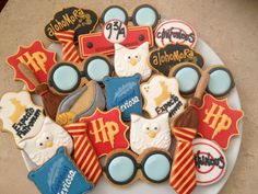 Harry Potter party cookies