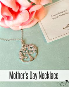 Gift idea for Mother's Day- represent the whole family tree! #ad #HallmarkJewelry