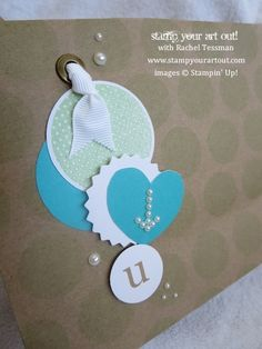 """""""In The Bag"""" February 2014 Paper Pumpkin Kit ideas with video tutorial… Stampin' Up!® - Stamp Your Art Out! www.stampyourartout.com"""
