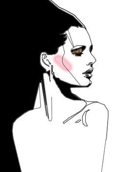 Modeconnect.com - Fashion illustration by Svetlana Ihsanova