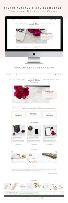 introducing-ingrid-portfolio-and-ecommerce-genesis-child-theme-feminine-wordpress-theme
