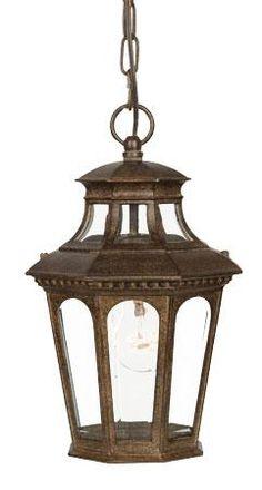Outdoor hanging lantern bronze Acclaim
