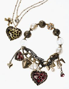 Betsey Johnson jewelry bracelet necklace