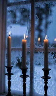 Winter Christmas, Christmas Lights, Blue Christmas, Winter Snow, I Love Winter, Winter Magic, Winter Scenery, Window View, Winter Beauty