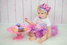 Cupcake Princess Birthday Tutu Outfit