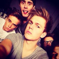 Joe Sugg, Alfie Deyes, Caspar Lee, Marcus Butler, and Jim Chapman