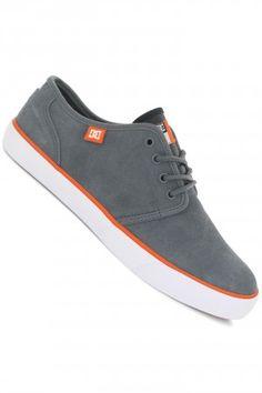 DC Studio S Shoe (grey orange) | #skatedeluxe #sk8dlx #DC