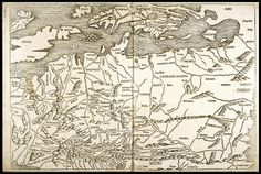 [Map of Europe] (from the Nuremberg Chronicle)  1493