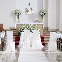 Church Aisle Decorations, Table Decorations, Wedding Church, Projects To Try, Weddings, Wedding Dresses, Home Decor, Valentines Day Weddings, Wedding